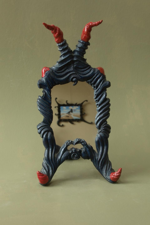 Spiegel lindenhout